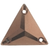 Sew-on Metallic Stones 50pcs 22mm Triangle Copper
